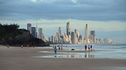 25th Feb 2021 - Surfers paradise in the Distance