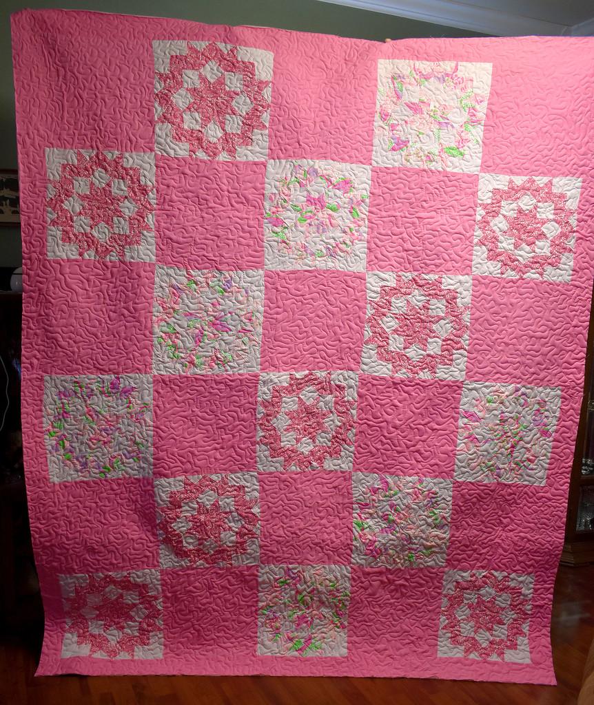 Grandma's Carpenter Star Quilt  by homeschoolmom