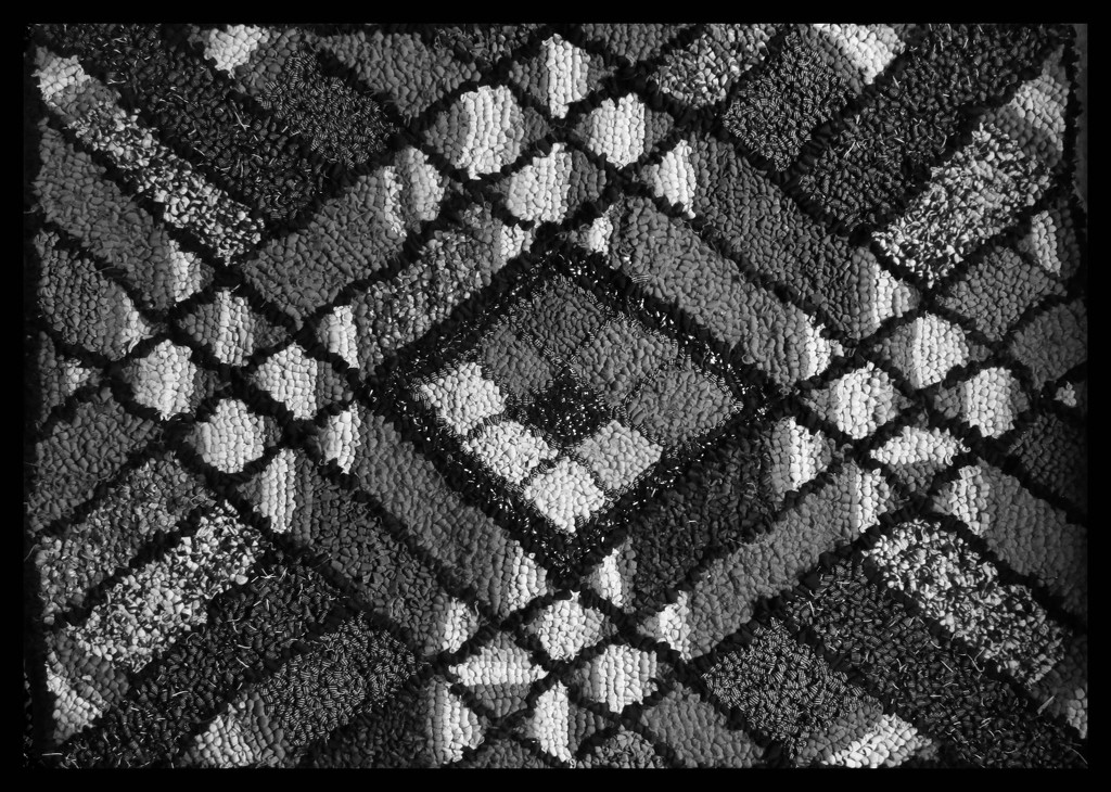 rug bw by kali66