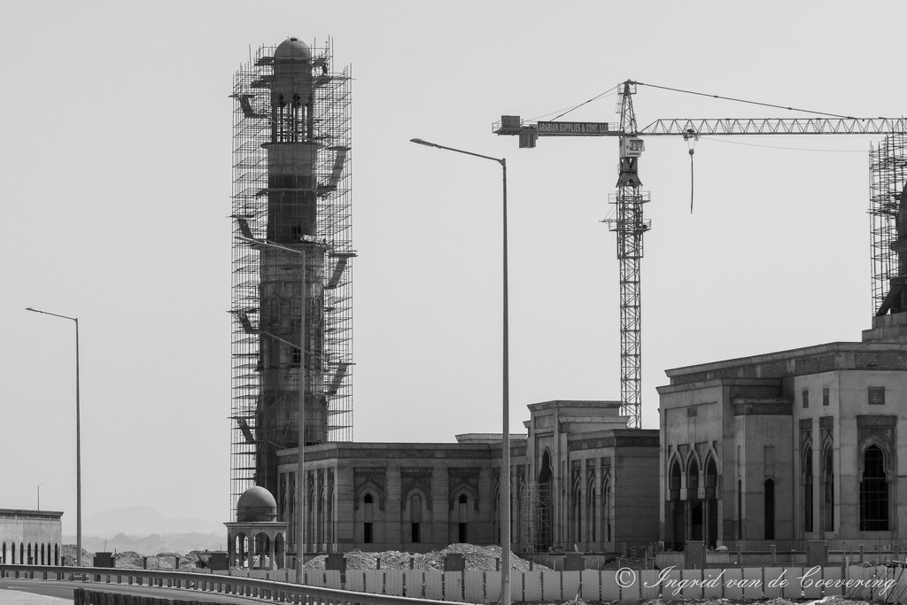 Mosque construction by ingrid01