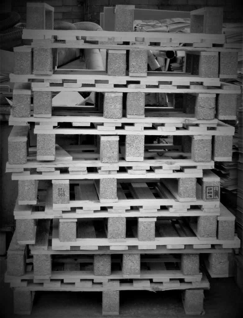 stacked pallets  by anniesue