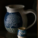 Pottery pitcher and pot