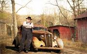 26th Feb 2021 - Car at farm with Gene