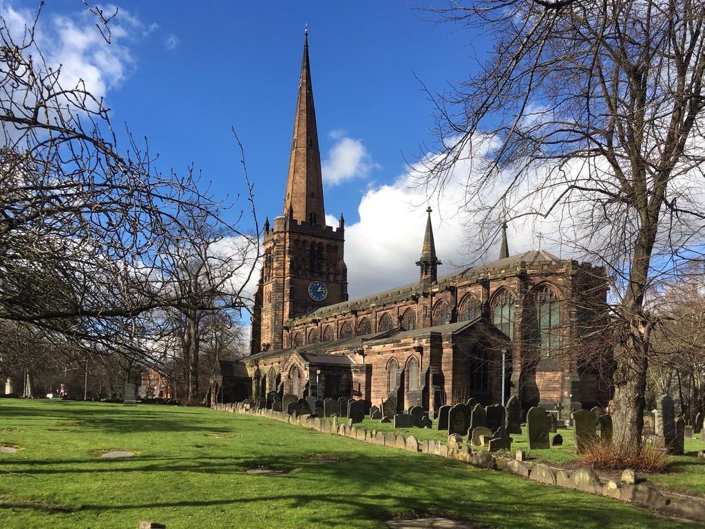 Aston Parish church of Saints Peter & Paul by pattyblue