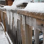 26th Feb 2021 - Ice #1: Icy Railing