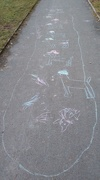 25th Feb 2021 - The Snow Is Gone and Children's Games Continue.