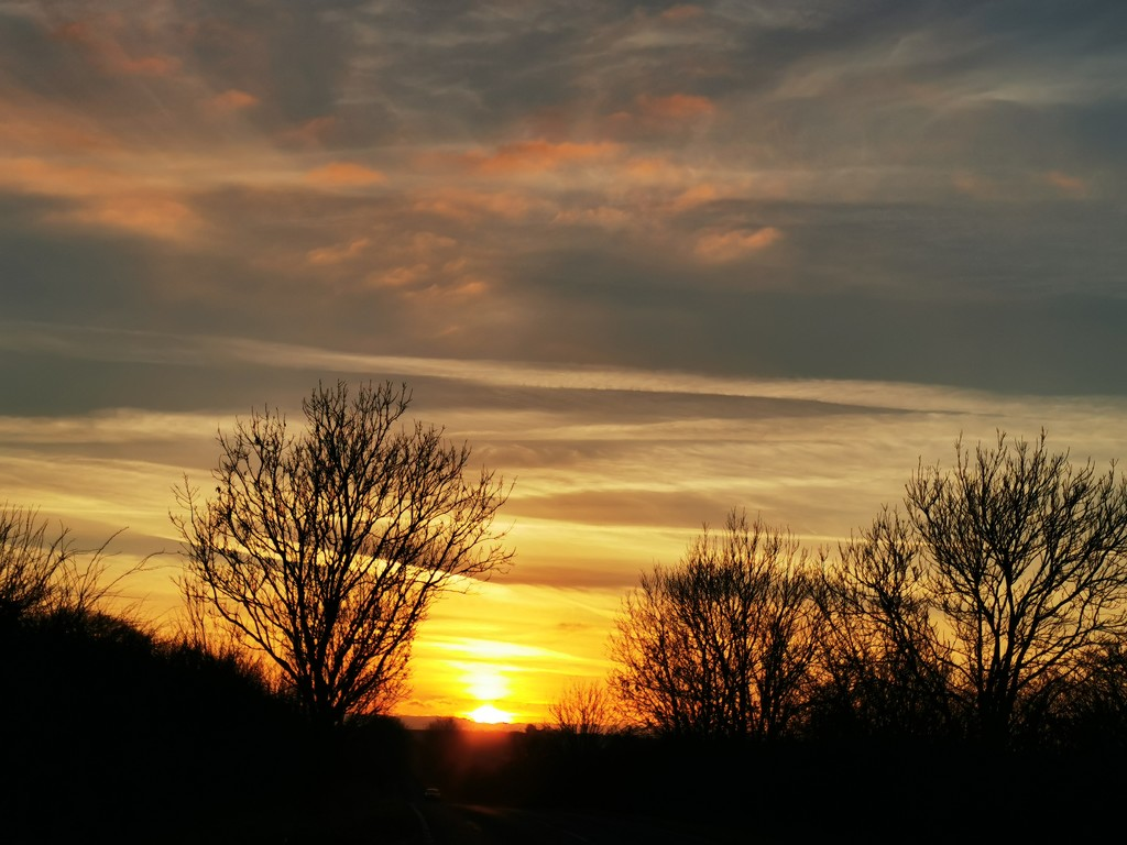 Unedited evening sky by plainjaneandnononsense