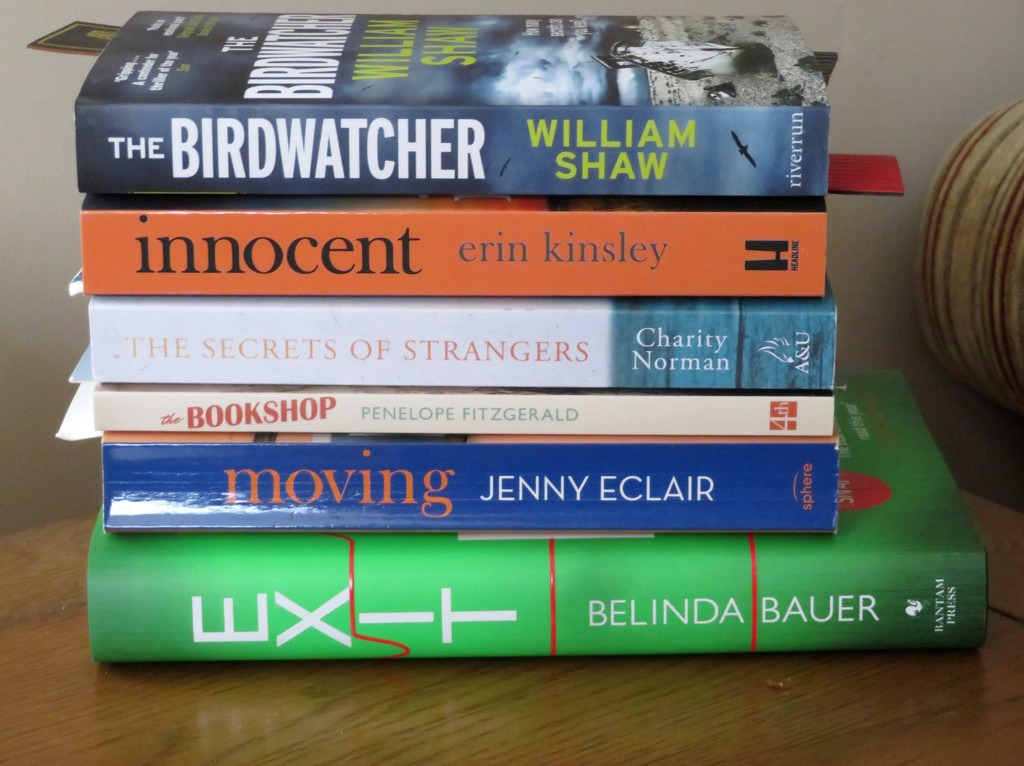 My next six reads by lellie