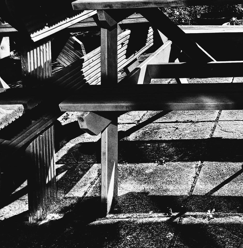 25th Feb Garden Benches by valpetersen