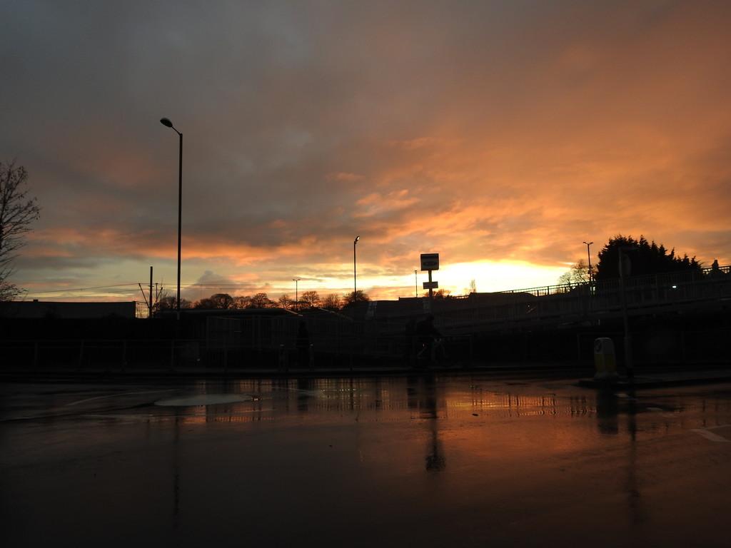 Basford Sunset by oldjosh