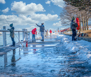 28th Feb 2021 - snow melting so everyone is out-