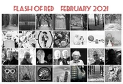 28th Feb 2021 - Flash of Red 2021
