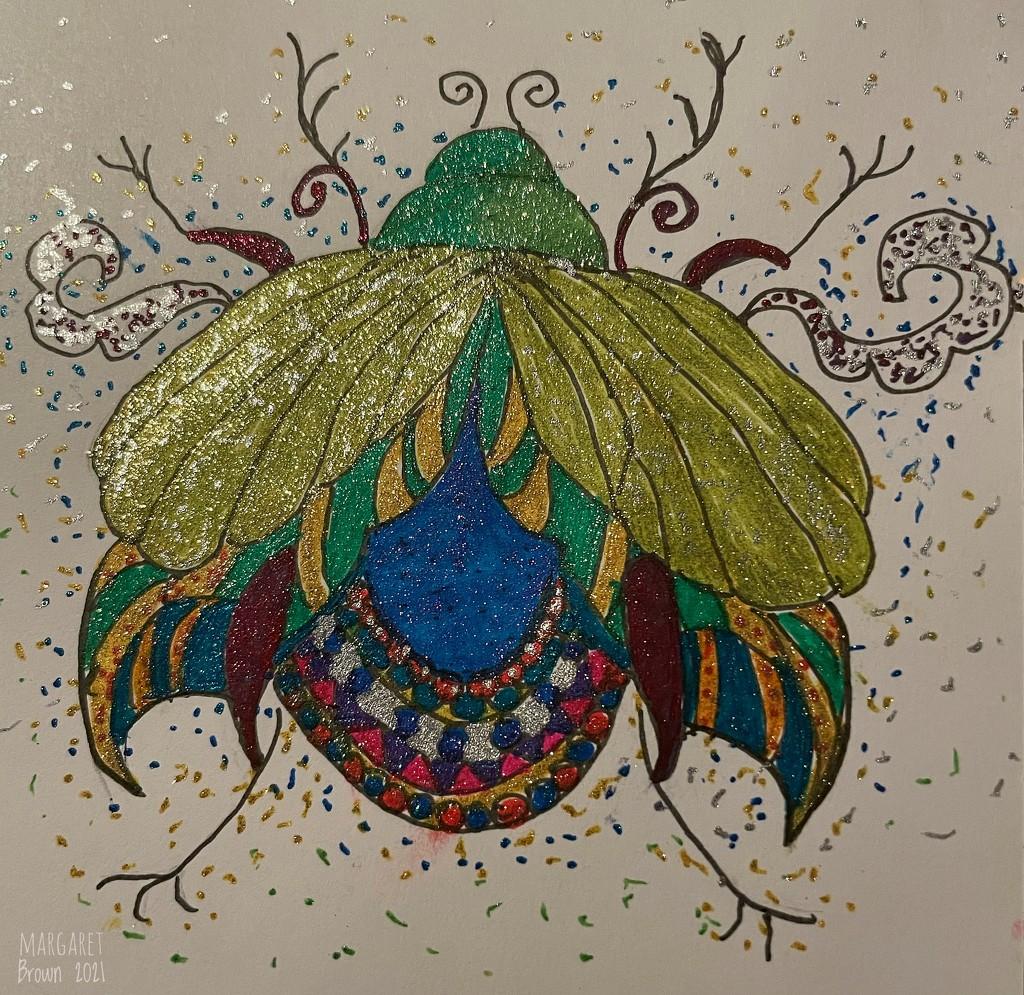 Glitter Bug by craftymeg
