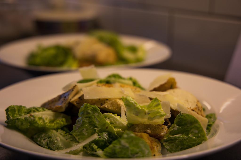 Chicken and bacon ceasar salad by peadar