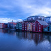 The piers in Trondheim