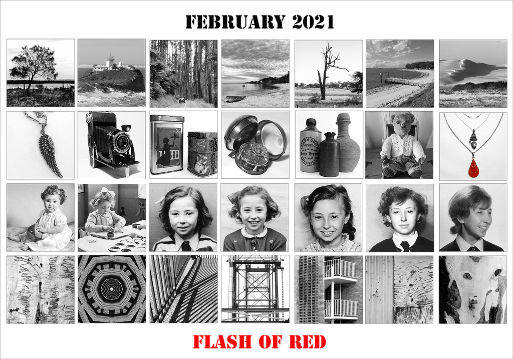 Flash of Red by onewing