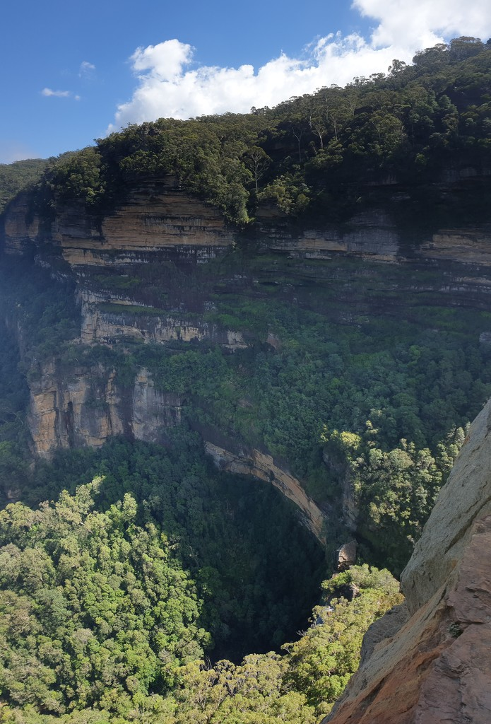 View from the top of Blue Mountains  by julianneovie