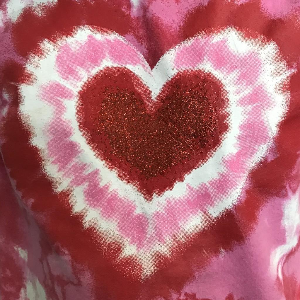 Tie-Dyed Heart by genealogygenie