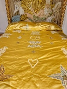 1st Mar 2021 - Golden bed with heart.