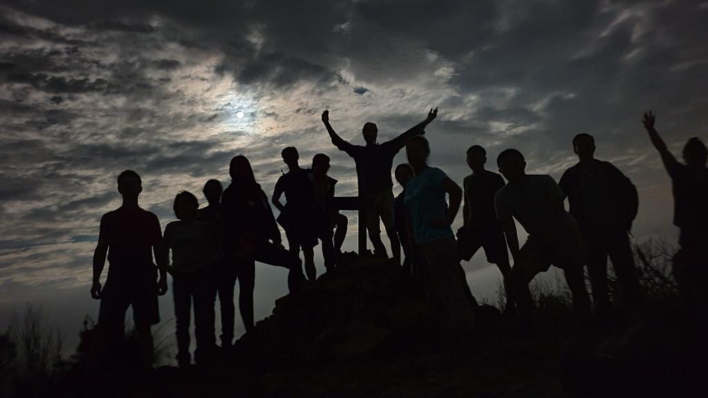 Moonlight walk to Lockleys Pylon by julianneovie