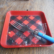 1st Mar 2021 - Red Plate
