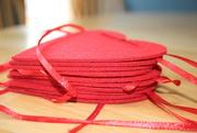1st Mar 2021 - Red heart garland