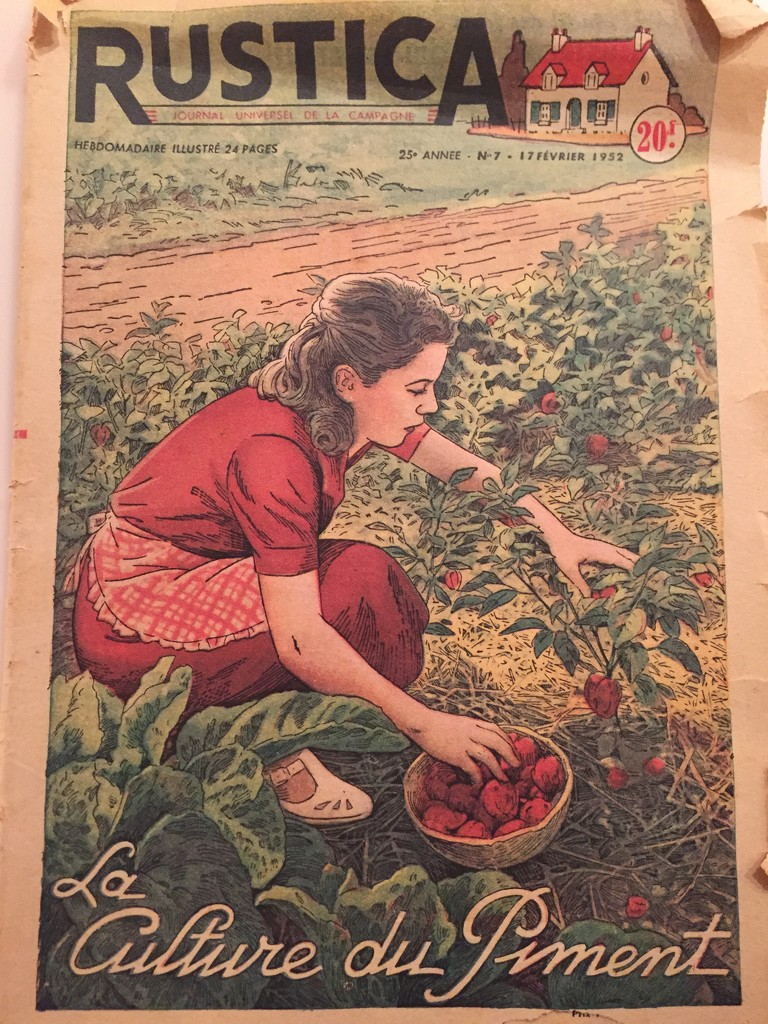 1952 French magazine  by snowy