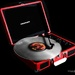 Red record player ( Rainbow Month)