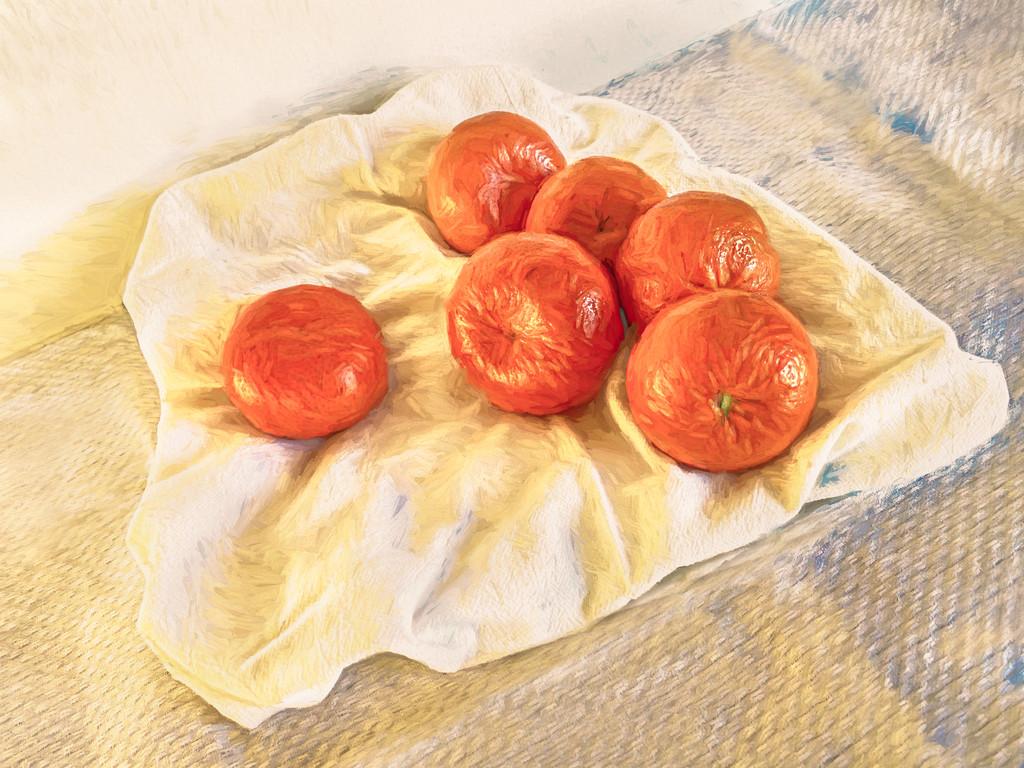 20210302 Oranges a la Van Gogh by sprphotos