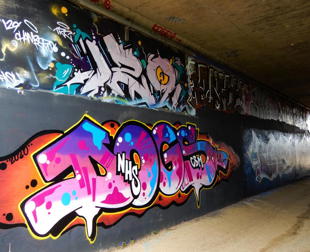 Graffiti or art? by busylady