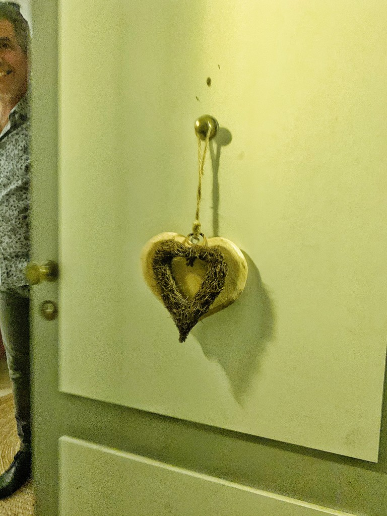 Heart on a door.  by cocobella