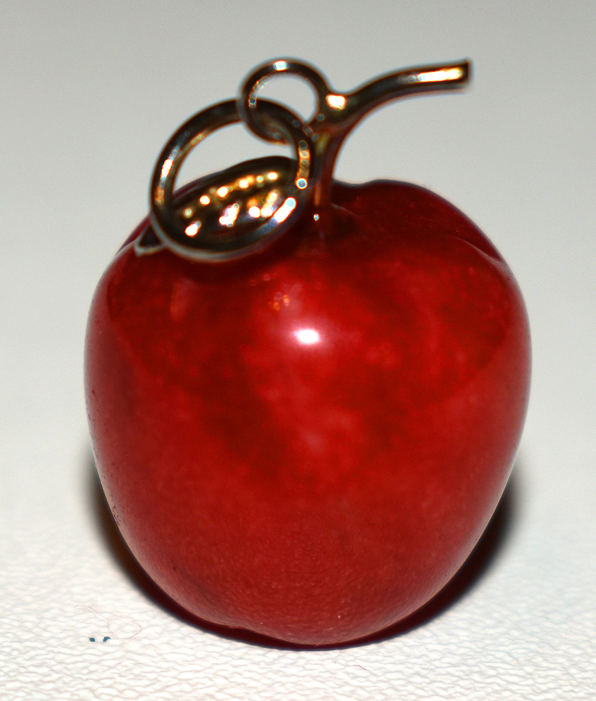 Red apple jewelry by homeschoolmom