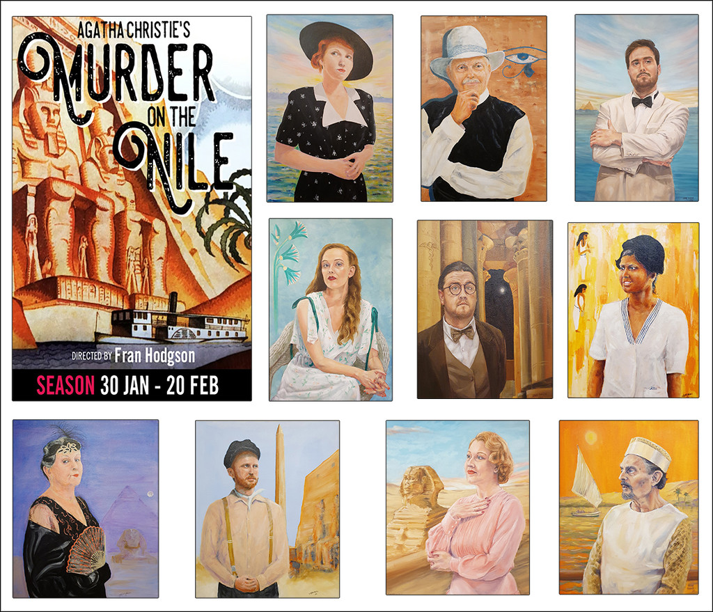 Murder on the Nile by onewing