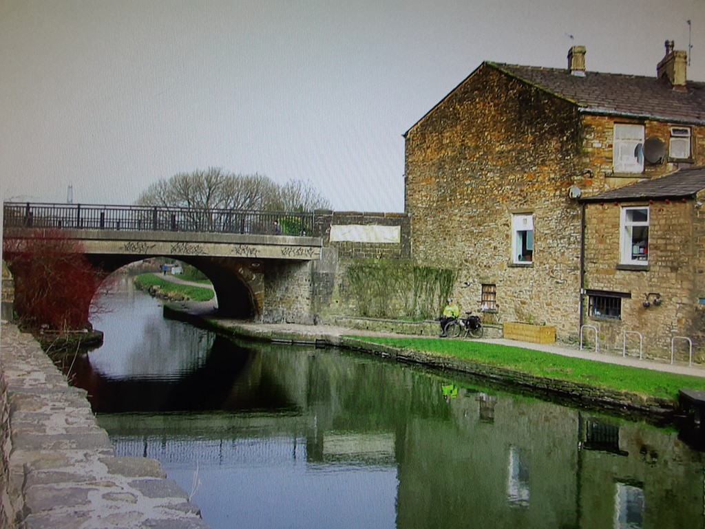 Leeds Liverpool canal from Rishton.  by grace55