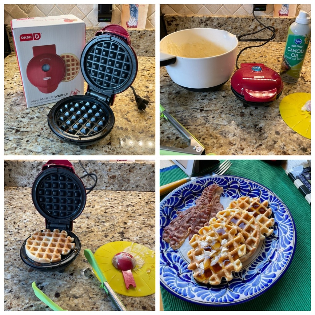 Mini Waffles, Maxi Fun by allie912