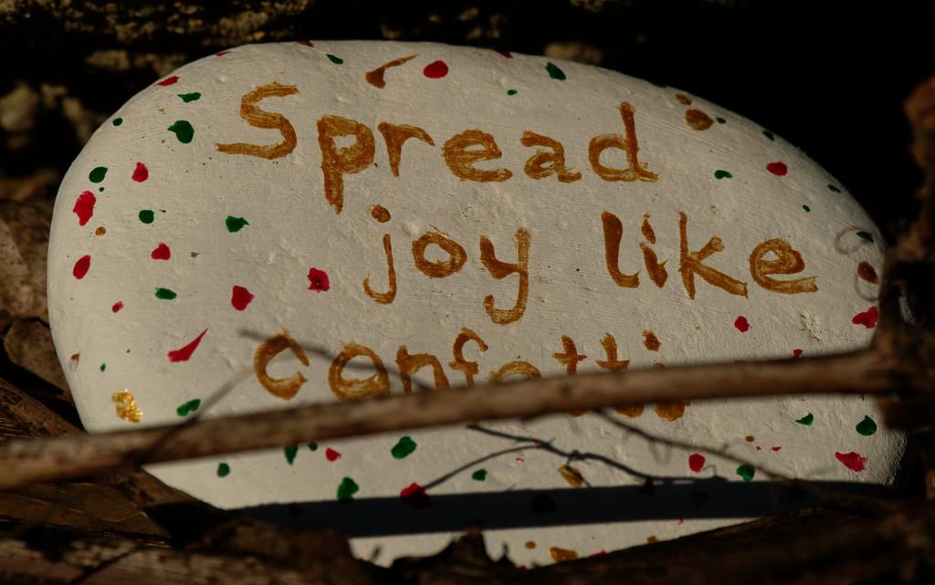spread the joy like confetti by rminer