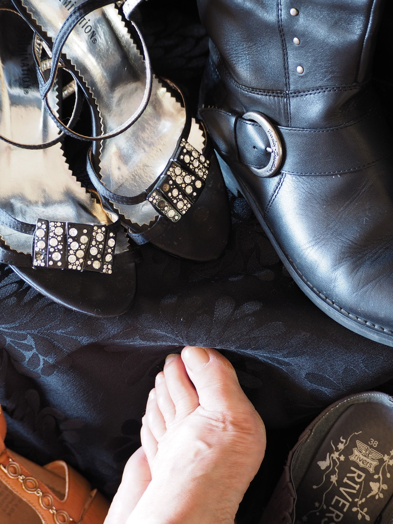 Shoes, Sandals and Feet by katford