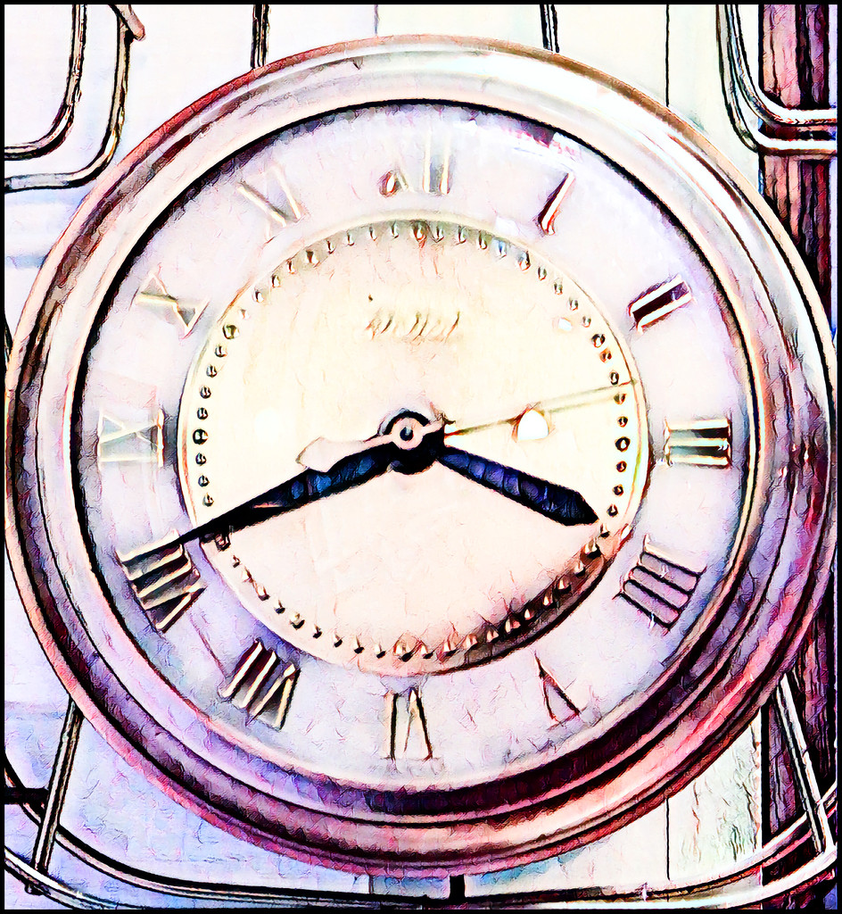 Turn Back the Hands of Time by olivetreeann