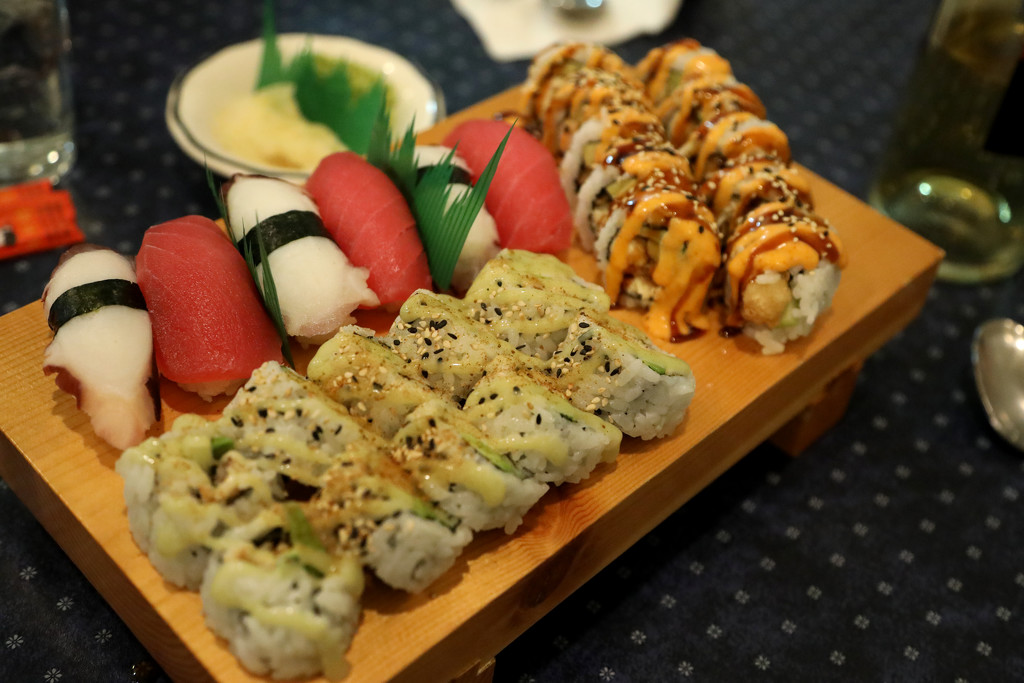 Sushi at Royal Myanmar by steelcityfox
