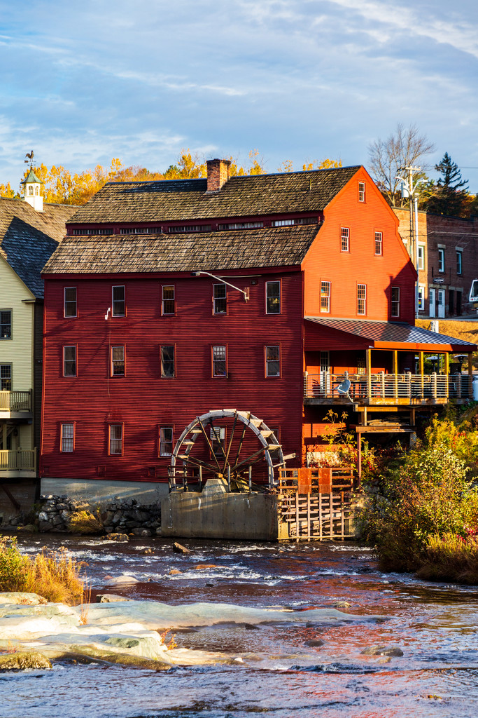 New Hampshire Old Mill by photograndma