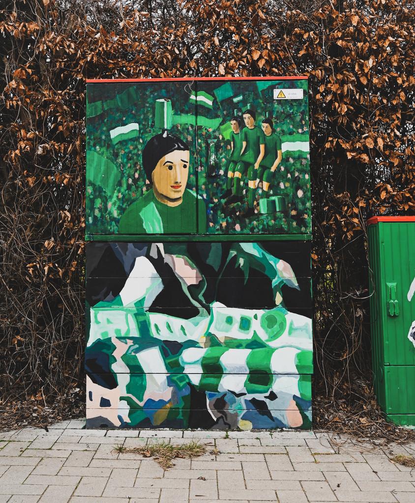 Green Street Art by toinette