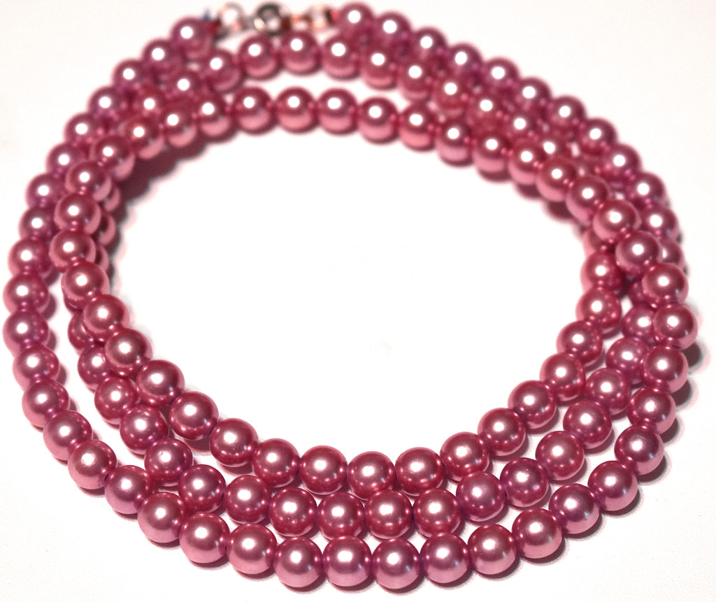 Pink Beads by homeschoolmom