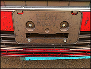 4th Mar 2021 - A Face on the Bumper