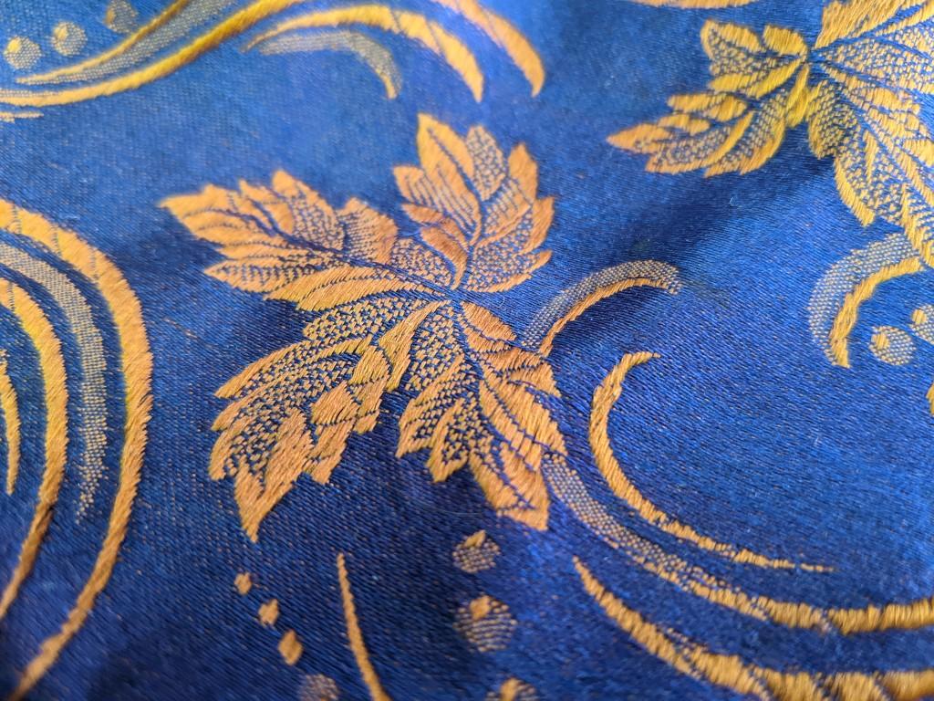 Silk Scarf Detail by prairiesmoke