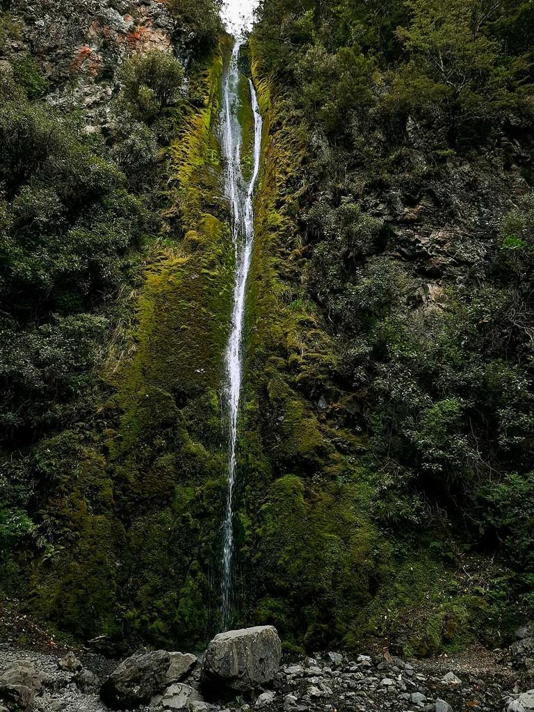 Dog Stream waterfall  by maureenpp