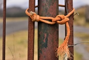 6th Mar 2021 - rope and rust