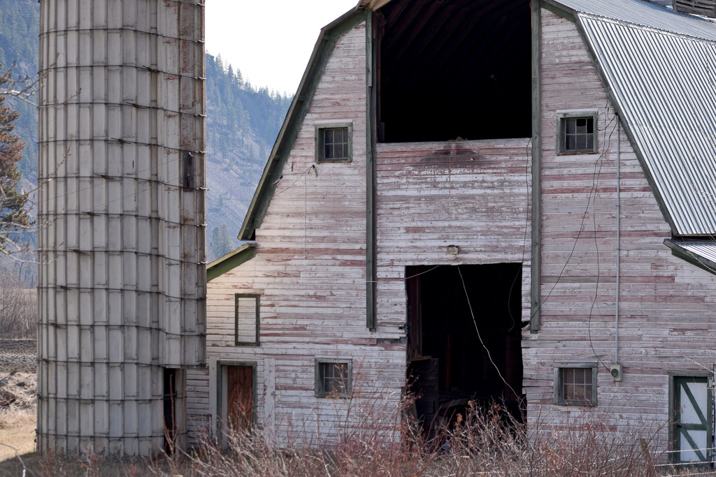 Scenic Barn and Silo by bjywamer