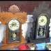 Love these old clocks-at the Collectorama show