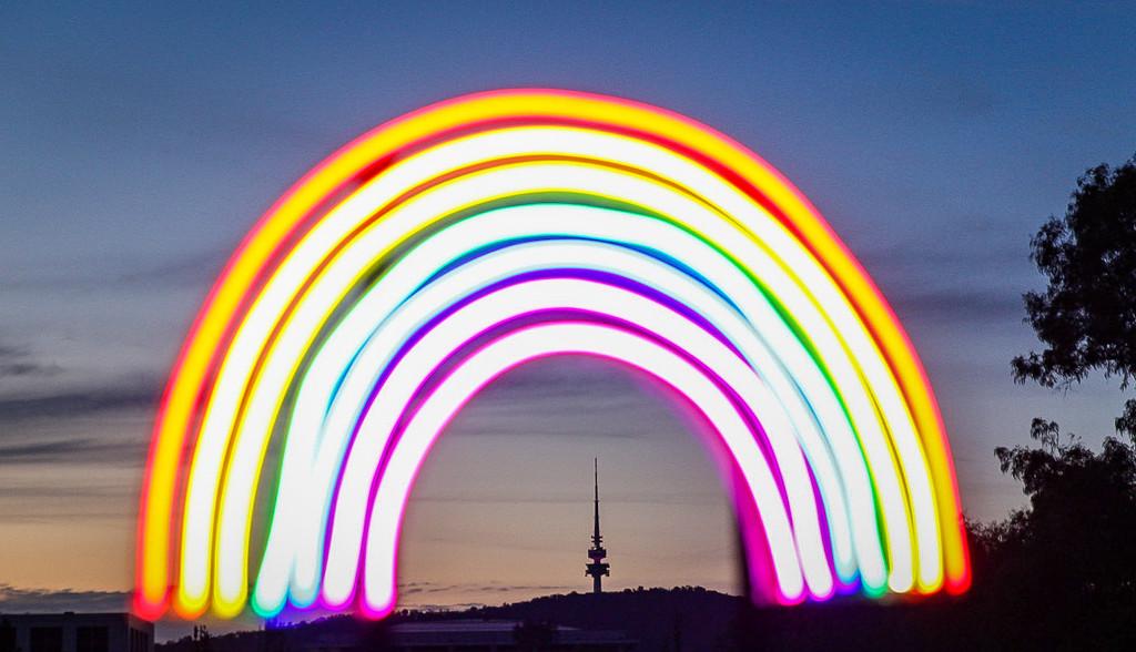 Rainbow tower by sharandrah