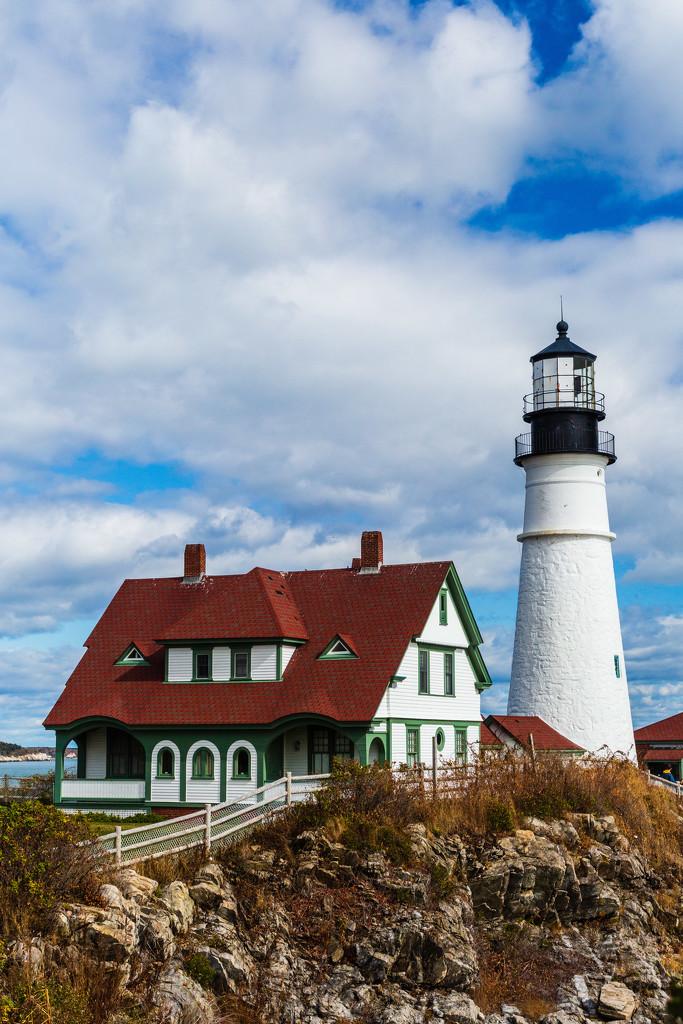 Portland Lighthouse #3 by photograndma